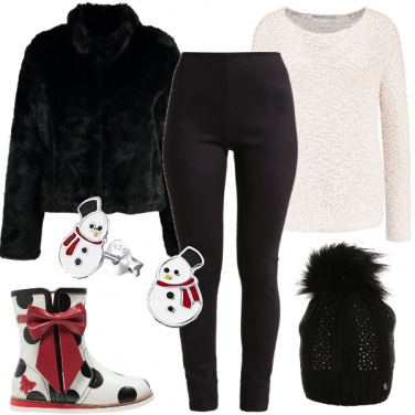 Outfit Trendy sotto la neve