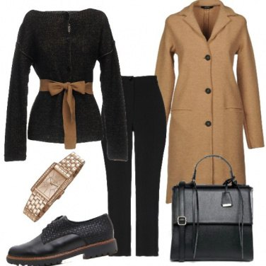 Outfit Must have: il cappotto cammello