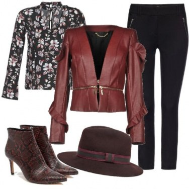 Outfit Chic in ecopelle