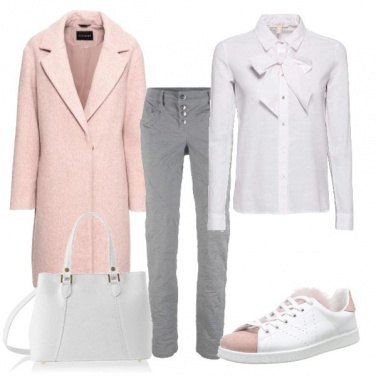 Outfit Le sneakers bicolore