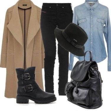 Outfit Urban con i denim