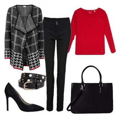 Outfit Tocco di rosso