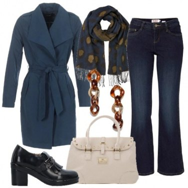 Outfit Mocassini con le frange