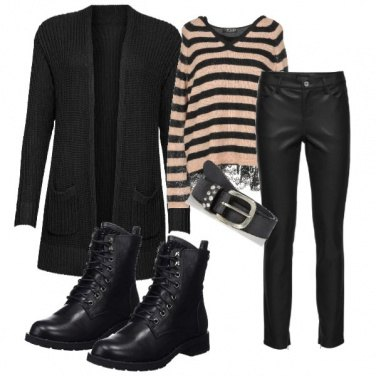 Outfit Black basic