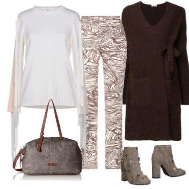 Outfit Sfumature marroni