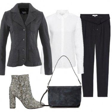 Outfit Blazer in felpa