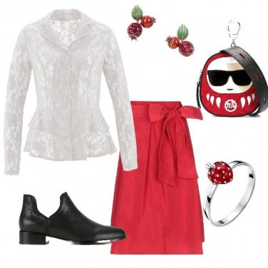 Outfit Camicia in pizzo