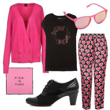 Outfit Pink is punk