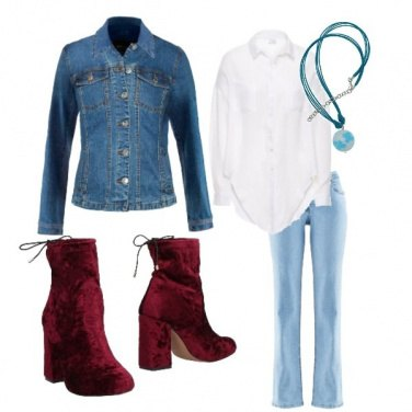 Outfit Jeans & camicia bianca