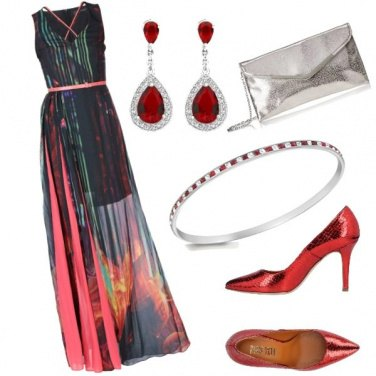 Outfit Rosso online