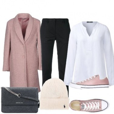 Outfit Sneaker rosa
