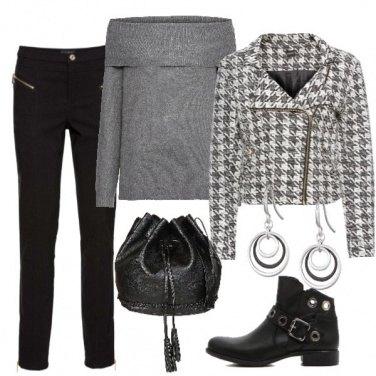 Outfit Il Chiodo pied de poule