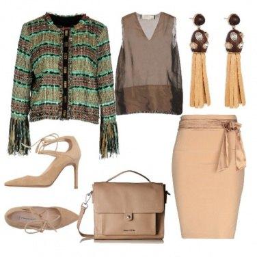 Outfit Tra fiocchi e frange