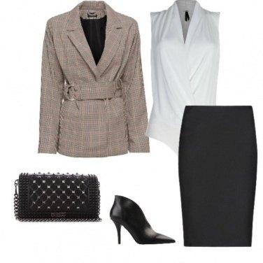 Outfit In ufficio con i tacchi