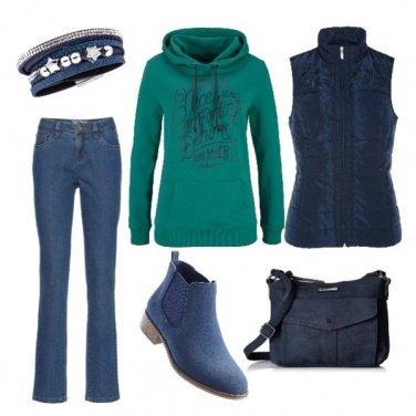 Outfit In felpa