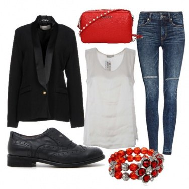 Outfit Aperitivo red