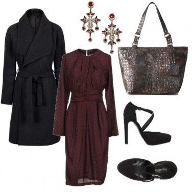 Outfit Vestito d\'autunno