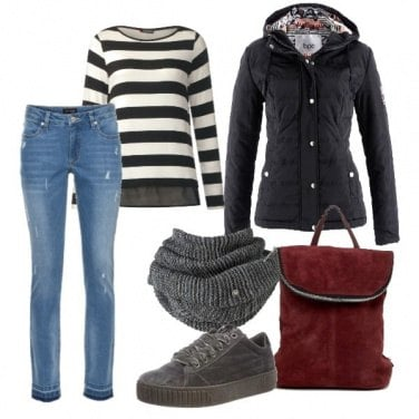 Outfit Calda low cost