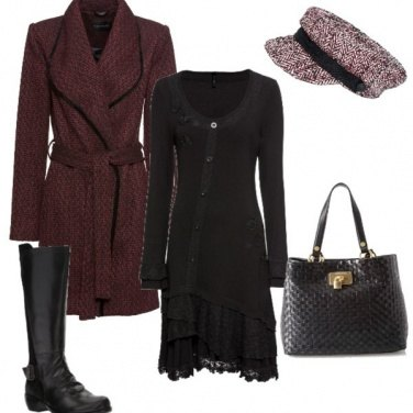 Outfit Morbido cappotto