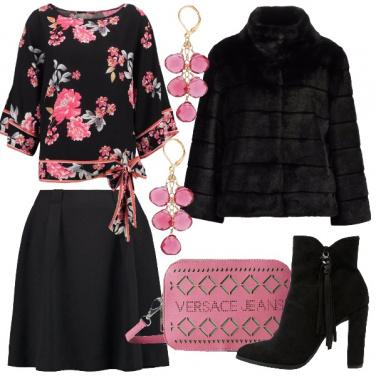 Outfit Fiori in stile orientale
