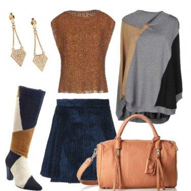 Outfit Quel blu che incanta