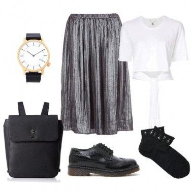 Outfit Turista alla moda