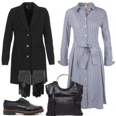 Outfit Vestito e stringata