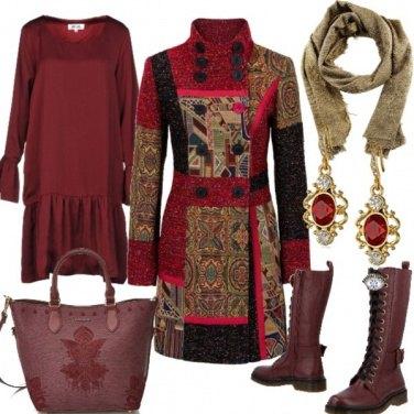 Outfit Il cappotto multicolor 2