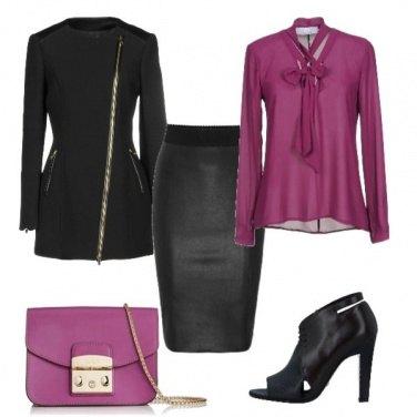 Outfit La pencil skirt grintosa