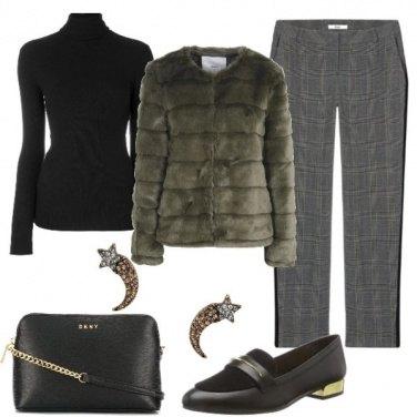 Outfit Un pellicciotto per tutti i giorni