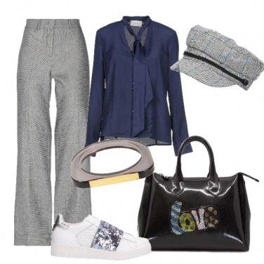 Outfit Con paillettes