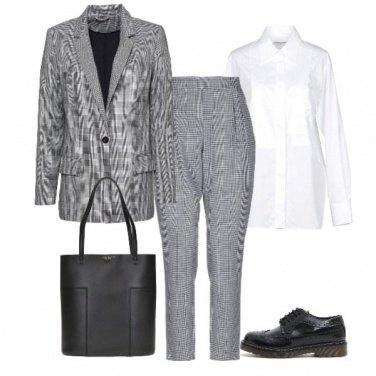 Outfit Stringata in ufficio