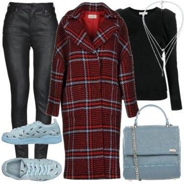 Outfit Tartan protagonista