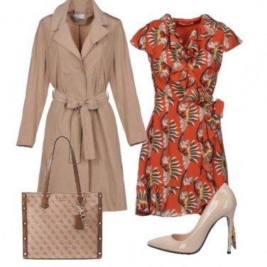 Outfit Il vestito a fantasia