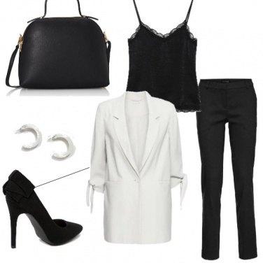Outfit In ufficio con la giacca