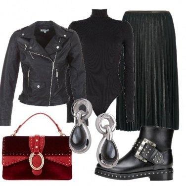 Outfit Quasi total black