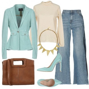 Outfit Flare jeans