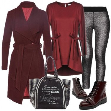 Outfit Un leggins particolare