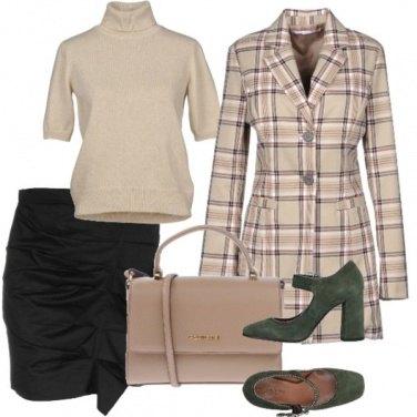 Outfit La mini drappeggiata