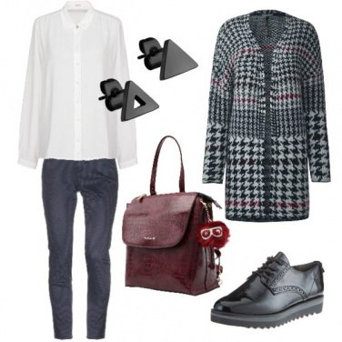 Outfit Tra casual e formale
