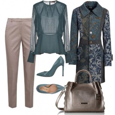 Outfit Verde d\'autunno