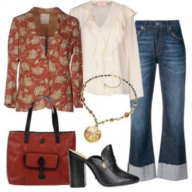 Outfit Stampe barocche