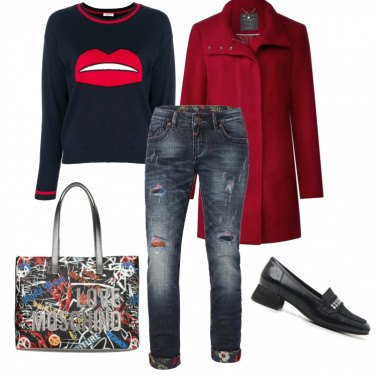 Outfit Eeasy red!