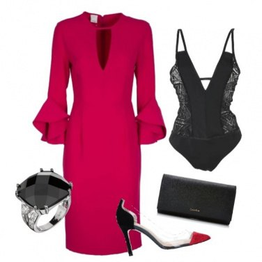 Outfit Red night