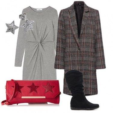 Outfit Abitino e cappotto