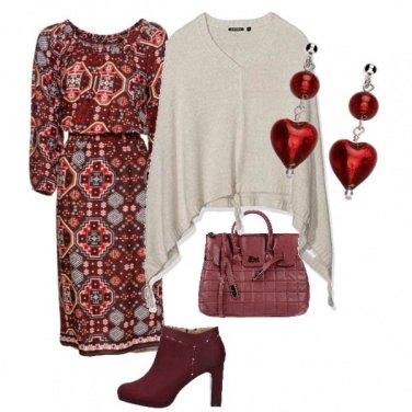 Outfit Vestito etnico