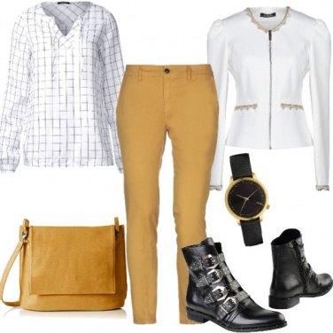 Outfit Camicia e stivaletti