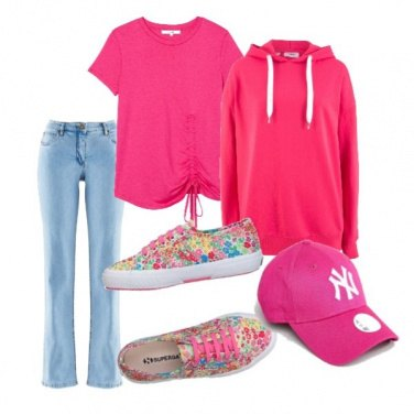 Outfit Fluo style