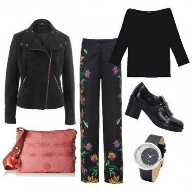 Outfit Flowers in ufficio