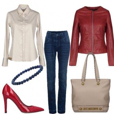 Outfit Il ritorno del jeans a vita alta